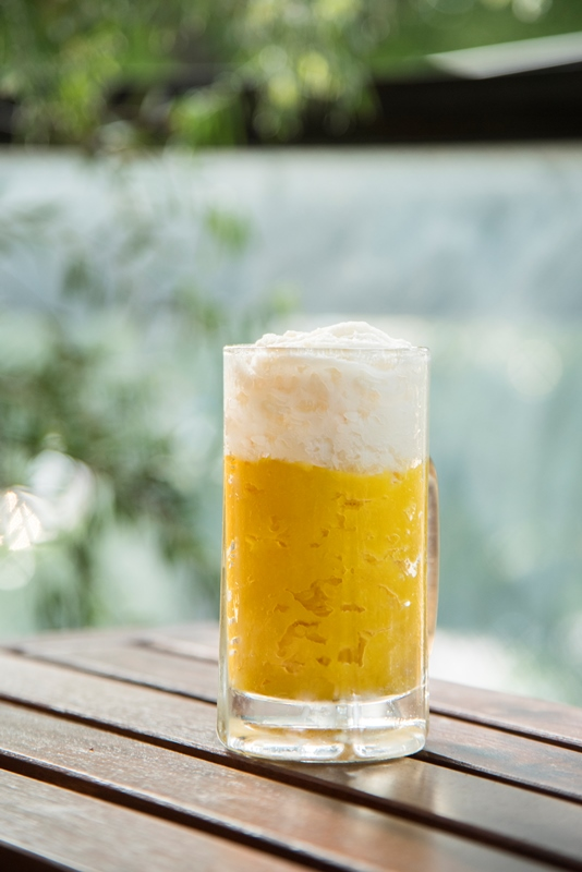 ビールかき氷2