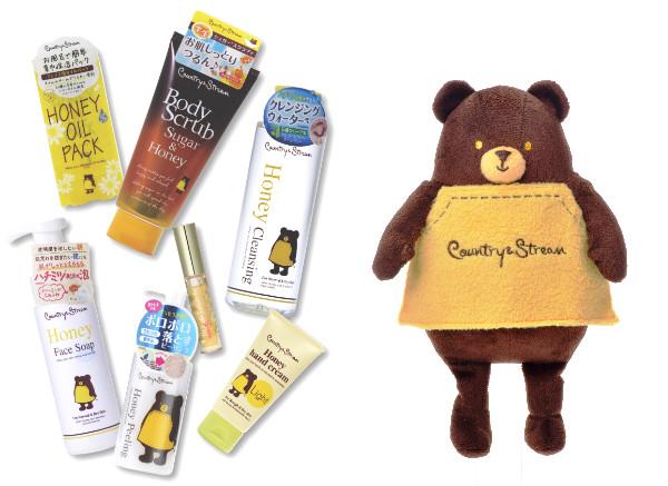 プレゼント盛りだくさん!9/1(金)~、ナチュラルスキンケアブランド「カントリー&ストリーム」が「ハチミツ好き、集まるシェ!」キャンペーン開催