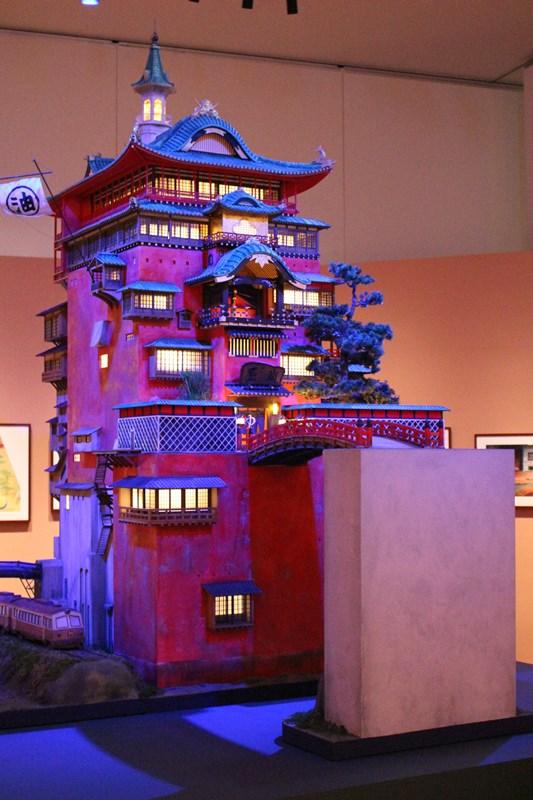 """『スタジオジブリ』の""""宝物""""を多数展示!「ジブリの立体建造物展」が『あべのハルカス美術館』で開幕"""