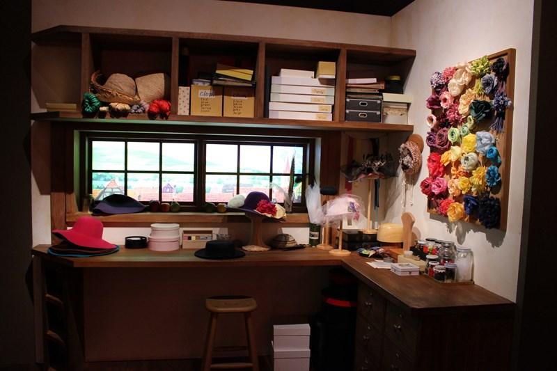 帽子店 模型(ハウルの動く城)/(c)2004 Studio Ghibli・NDDTM