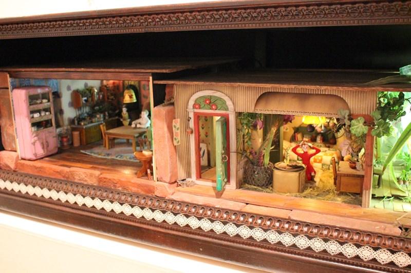 ドールハウス 模型(借りぐらしのアリエッティ)/(c)2010 Studio Ghibli・NDHDMTW