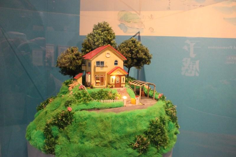 宗介の家 模型(崖の上のポニョ)/(c)2008 Studio Ghibli・NDHDMT