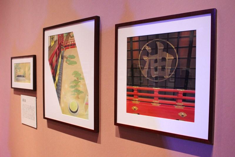 油屋 背景画(千と千尋の神隠し)/(c)2001 Studio Ghibli・NDDTM