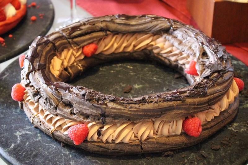 「チョコレートラズベリーパリブレスト」