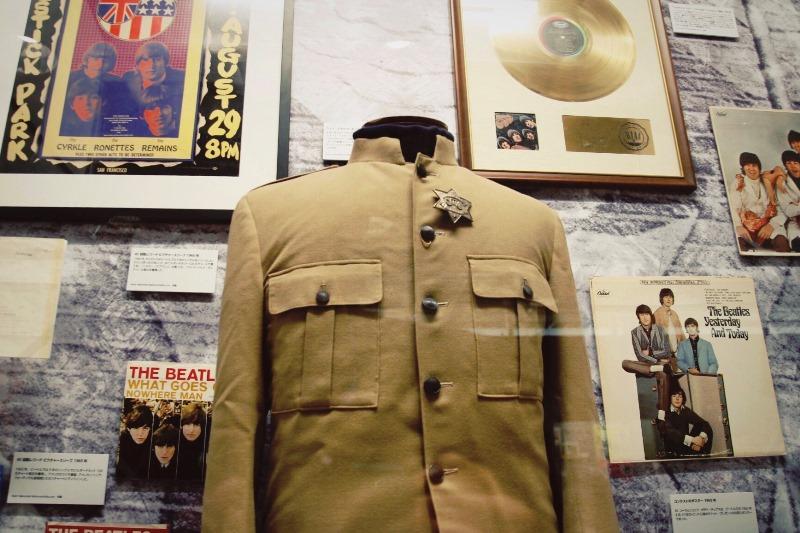 ビートルズ展 ポール・マッカートニーのステージコート