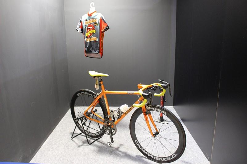 忌野清志郎展 オレンジ号といわれる自転車