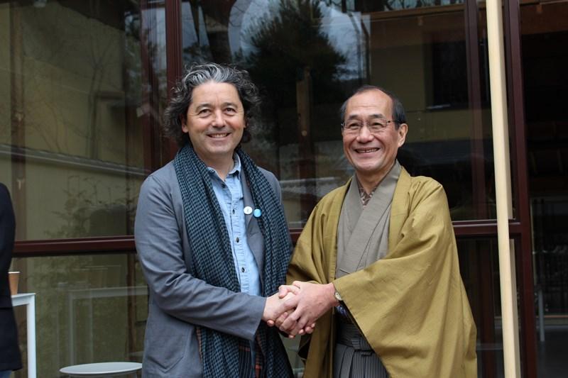 CEOと京都市長