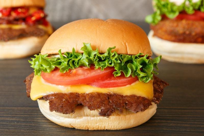 バーガー3種