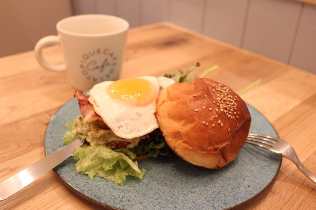 バーガー_皿