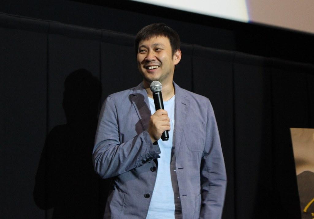 舞台挨拶濱口監督