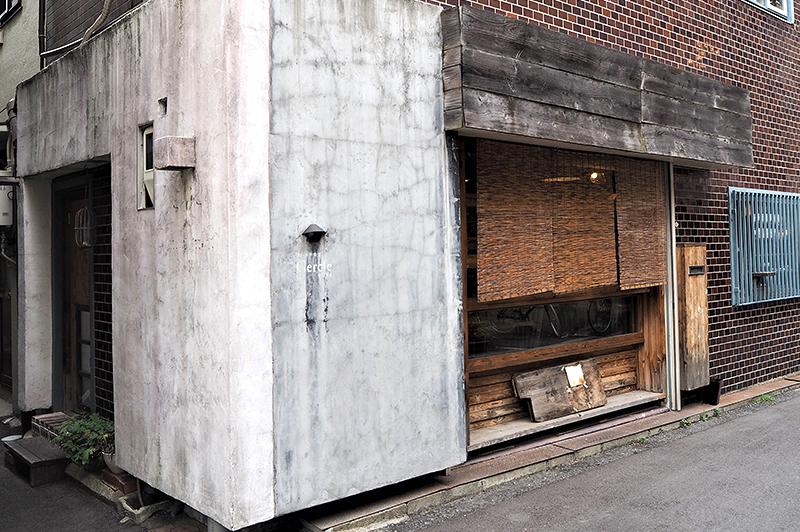 フレンチ食堂セルクル入口
