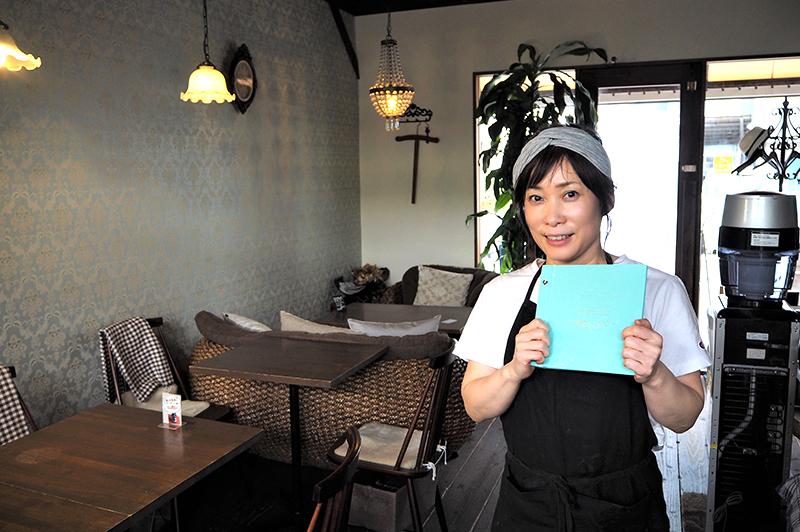 アンチエイジングカフェ ageオーナーの川崎博美さん