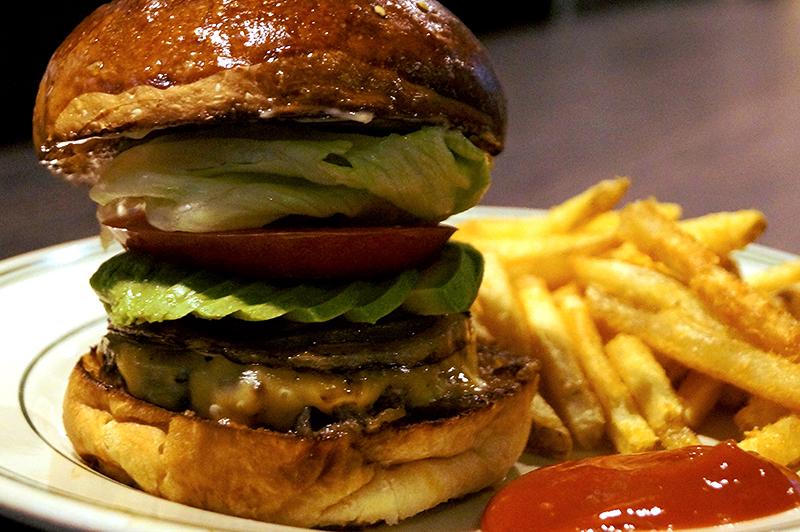 リッチガーデンのハンバーガー