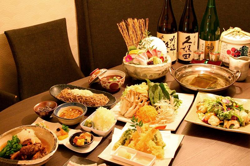 花椿 HANATSUBAKI E-ma 梅田店の料理