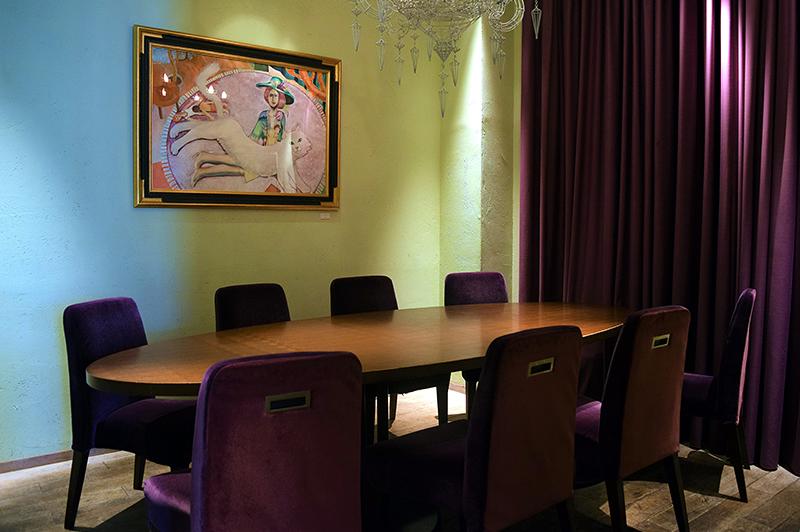 ミュゼ茶屋町の個室