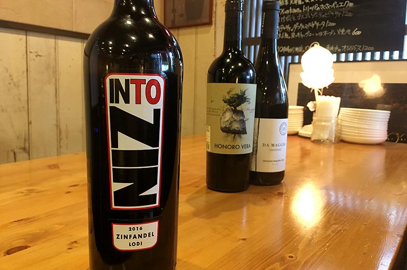 カリフォルニア産フルボディ赤ワイン「INTO ZIN(イントゥ ジン)」
