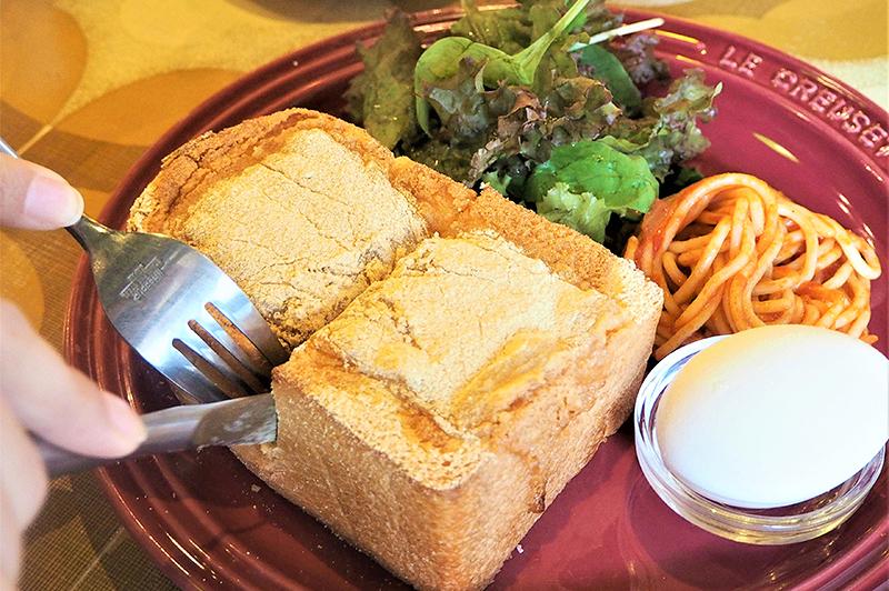 トキオナの山食のトースト