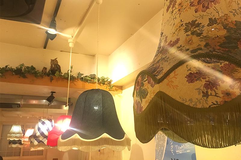 頂鯛のランプシェード