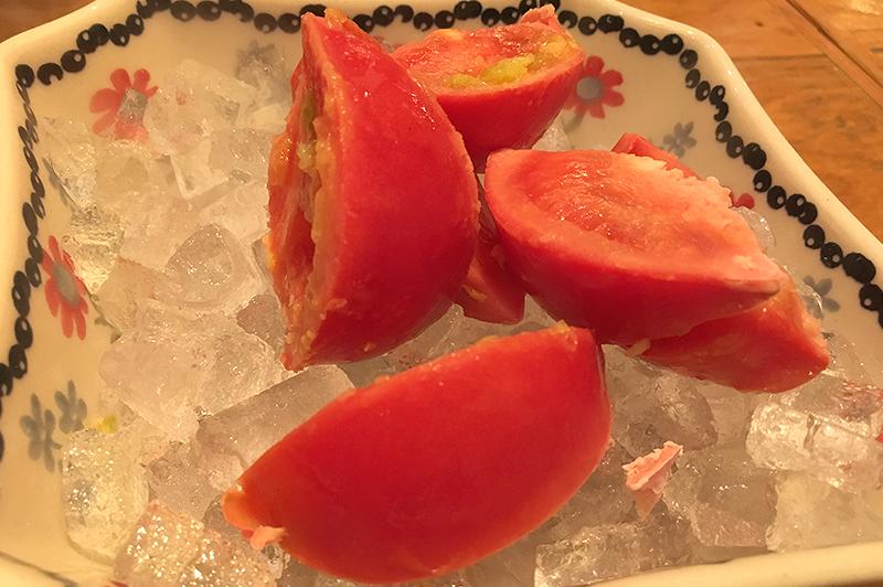 頂鯛の-196℃の冷やしフルーツトマト