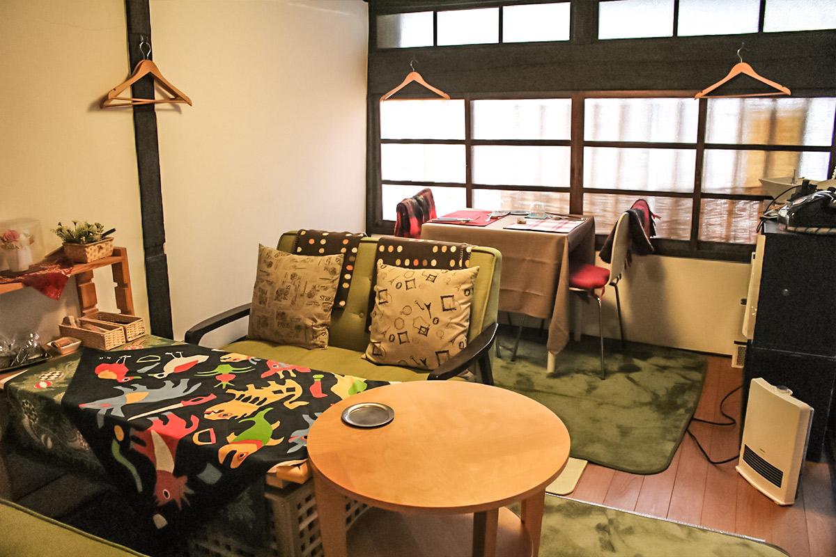 昭和町おうちカフェキッチンの店内の様子