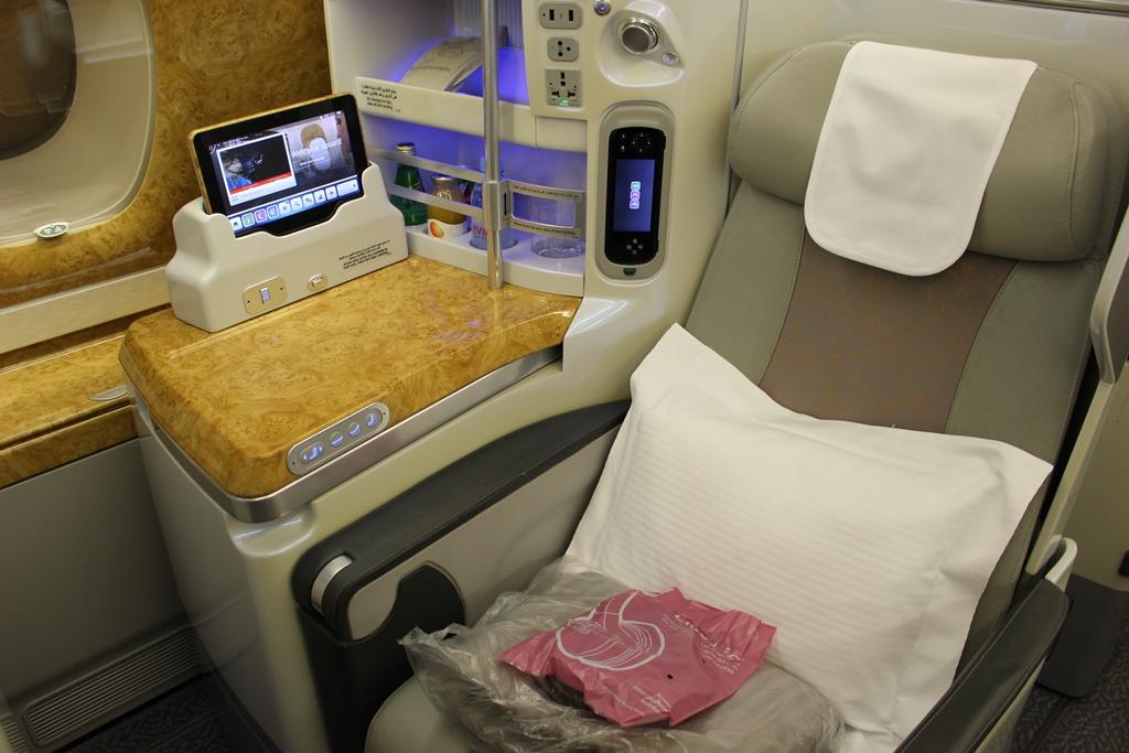 機内 ビジネス 席