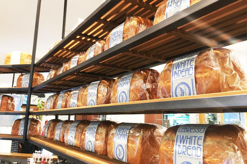 LeBRESSOグランフロント大阪店の自家製食パン