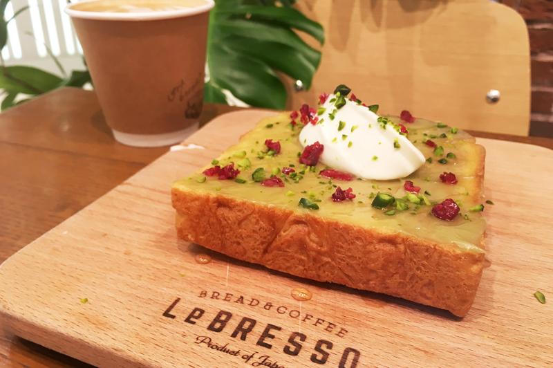 大阪・梅田『LeBRESSOグランフロント大阪店』が提供するこだわりのトーストとコーヒーで心地よい…
