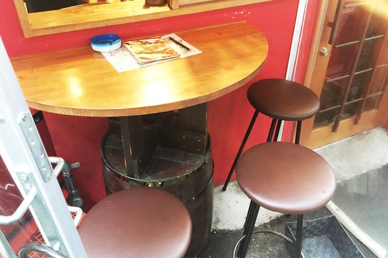 肉の寿司×焼鳥 okitayaのテラス席