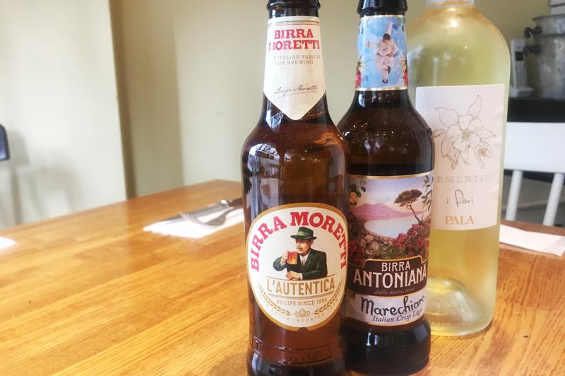 イタリア料理に合うビールとワイン
