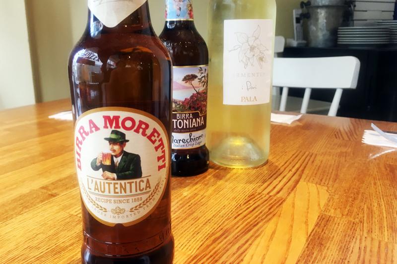 イタリア産ビール「BIRRA MORETTI(ビッラ・モレッティ)」