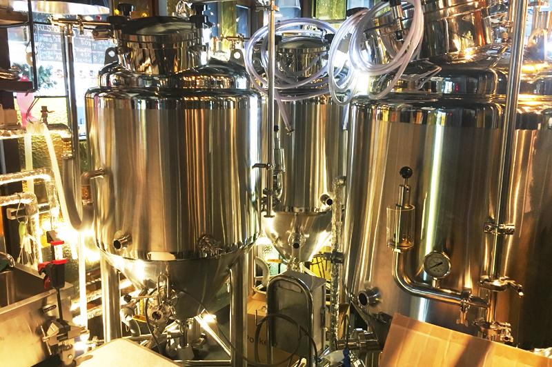 ビールの醸造設備