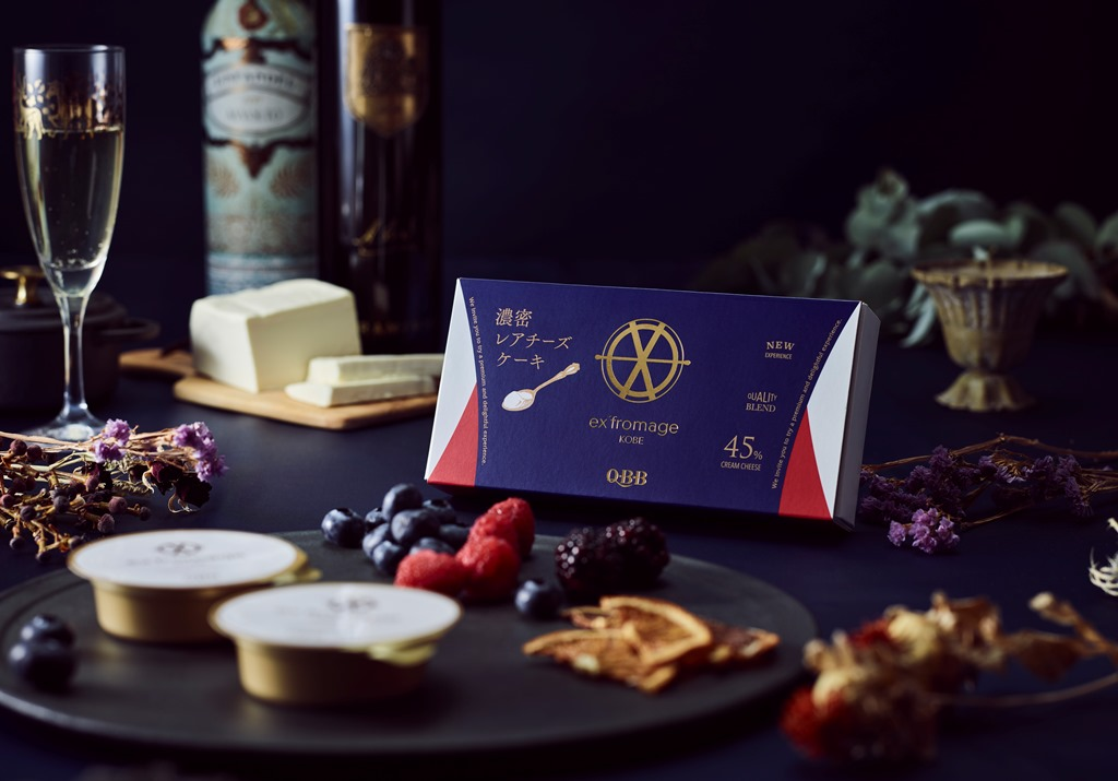 神戸土産の新定番へ!『六甲バター』の新ブランド「エクスフロマージュ KOBE」第一弾「濃密レアチー…