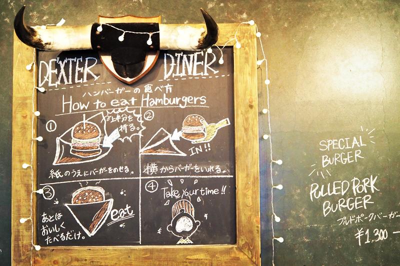 ハンバーガーの食べ方指南