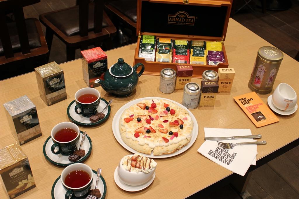 『MAX BRENNER』の2019年バレンタインは英国紅茶『AHMAD TEA』と限定コラボレーション