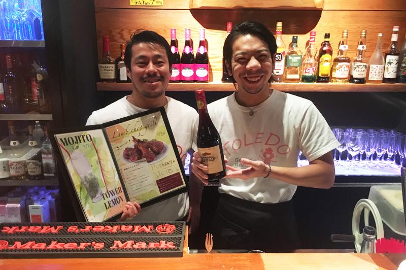 『ジェネラルレストラン TOLEDO福島』のシェフと店長