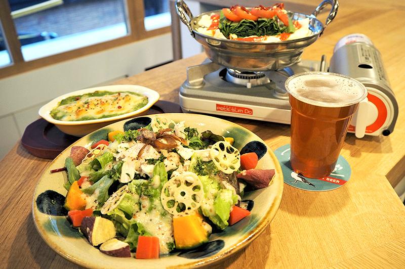 うみねこと公会堂の料理とクラフトビール