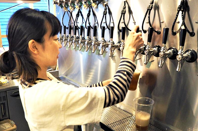 うみねこと公会堂のビールサーバー