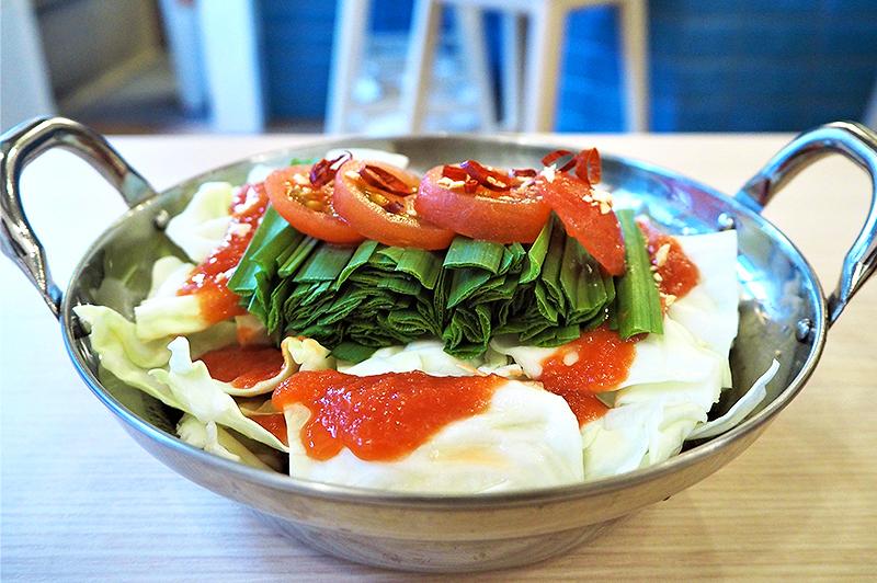 ちょっと自慢のお鍋 トマト風味のモツ鍋