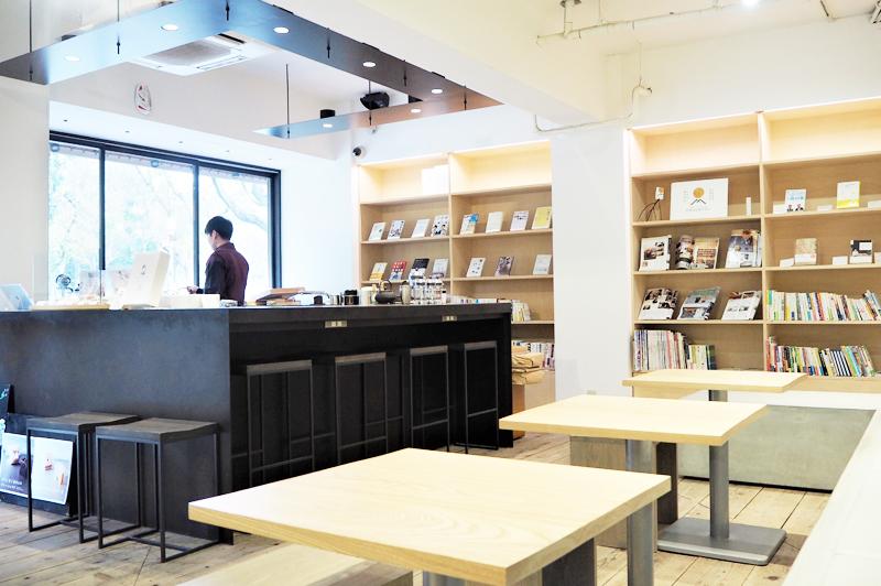 CHASHITSU Japanese Tea&Coffeenoの内観
