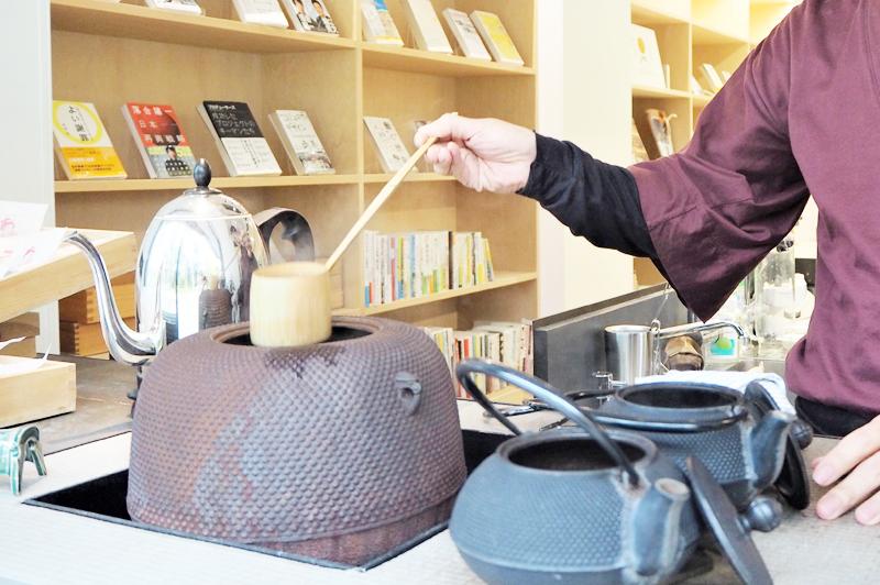 茶釜と急須