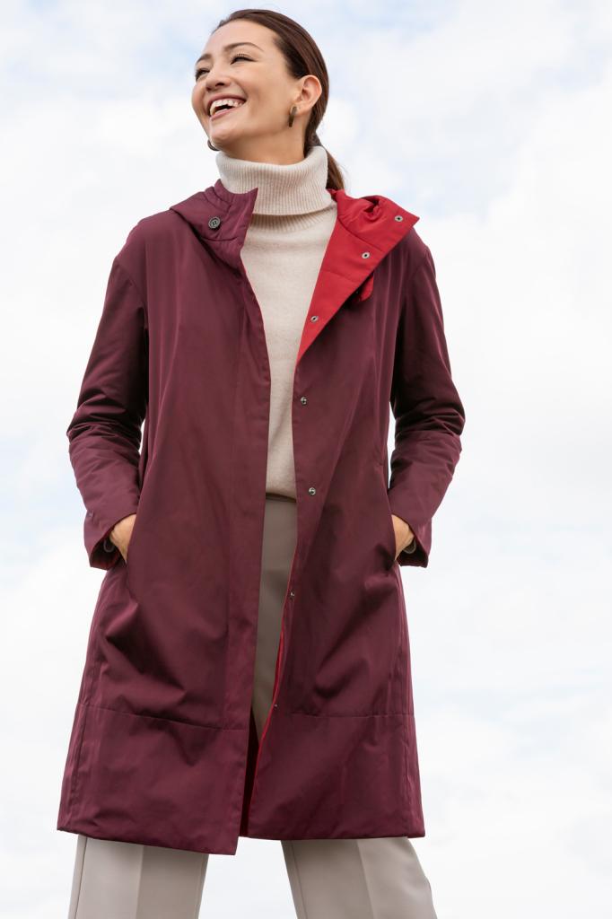 """発売後13万枚売れている""""魔法のコート""""!『DoCLASSE』の「マジカルサーモ・フードコート」"""
