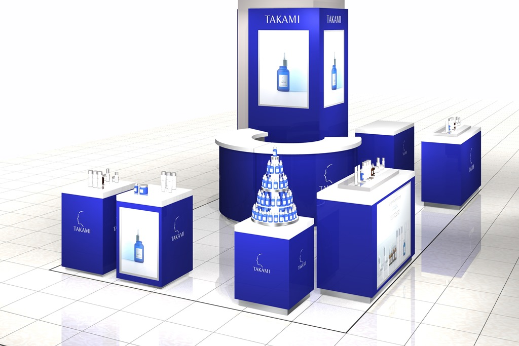 無料サンプルももらえる! 化粧品ブランド『タカミ』が、関西初のPOP UPストアを梅田にオープン