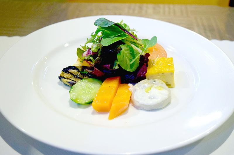 パスタランチのオードブル「前菜の盛り合わせ」