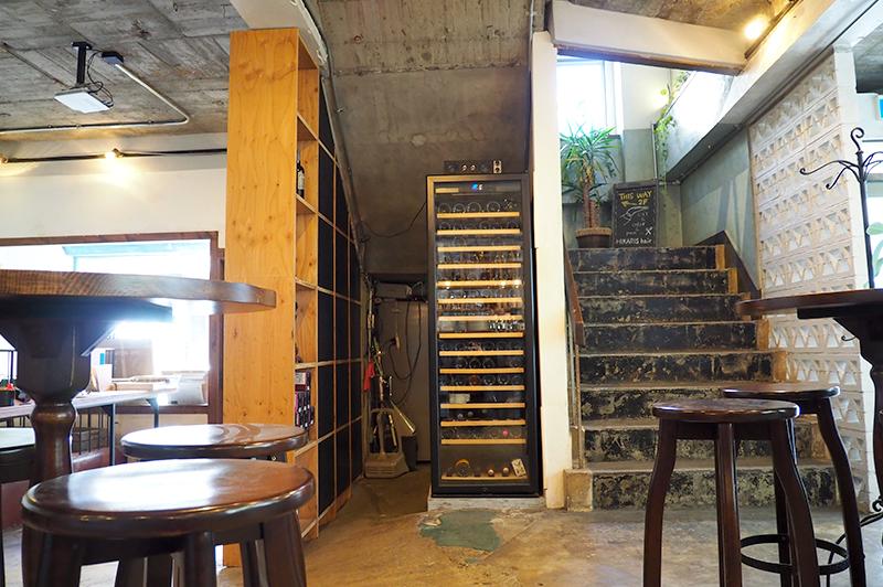 ヒカリスヘアーへの階段