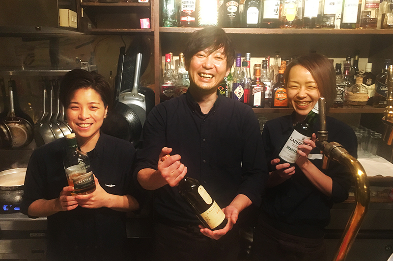 cafe and bar SOLのスタッフ