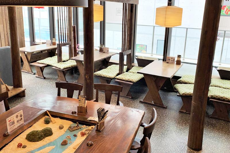 Mamezo&Cafe 中之島店の内観