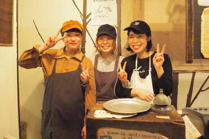 KAYA cafeのスタッフさん
