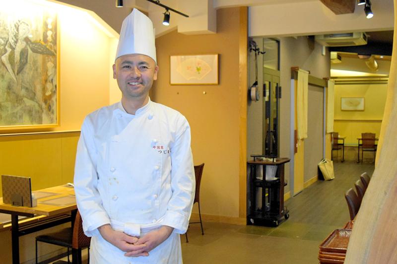 中国菜つじ岡のシェフ