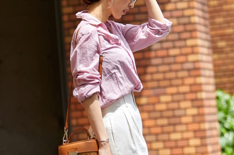 春の「ピンク・パープル系コーデ」10選!品よく大人可愛い透明感