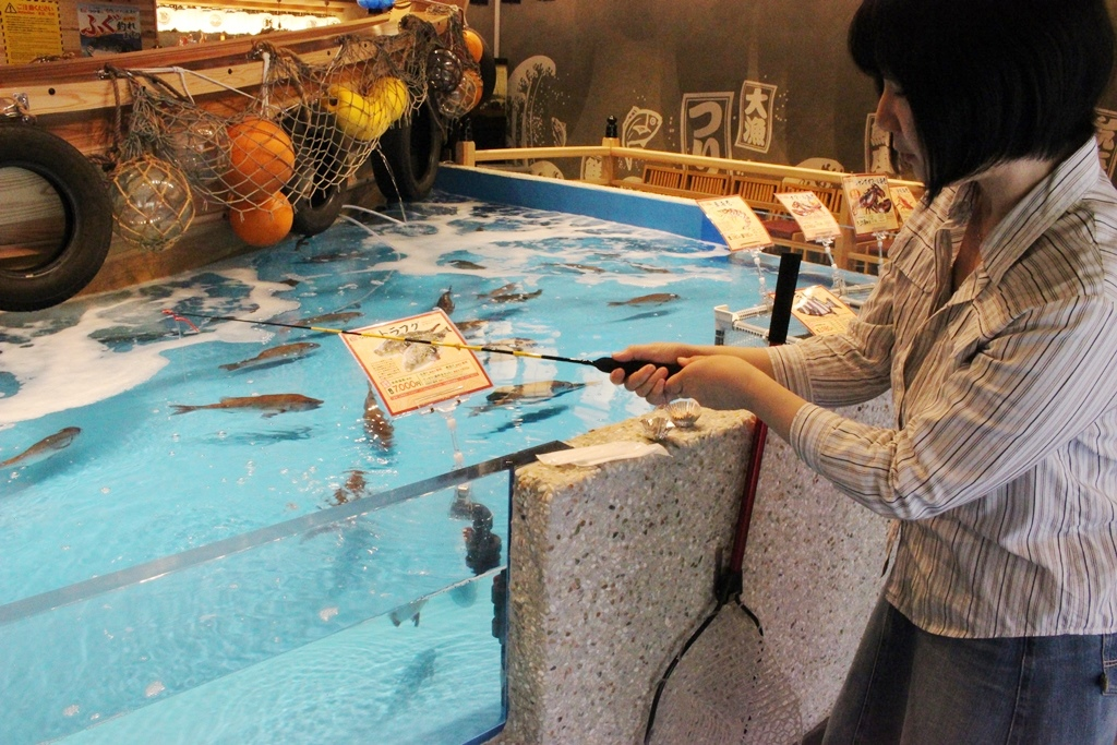釣り体験 1